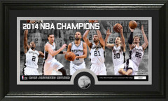 San Antonio Spurs 2014 NBA Champions Photo