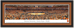 Syracuse Carrier Dome Framed Basketball Picture