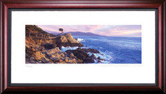 Pebble Beach Lone Cypress Golf art print