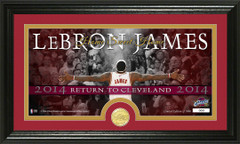 Lebron Return to Cleveland Picture and Coin