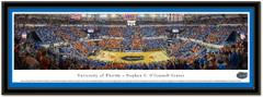 Florida Gators O'Dome Men's Basketball Framed Photo matted