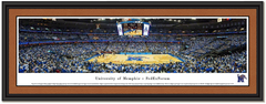 Memphis FedEx Forum Basketball Framed Poster