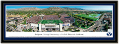 BYU LaVell Edwards Stadium Aerial Blakeway Panoramic matted