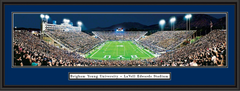BYU LaVell Edwards Stadium End Zone Panoramic Picture