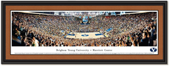 BYU Cougars Basketball at Marriott Center Framed Picture
