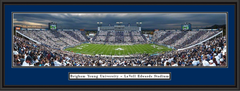 BYU Cougars Stripe the Field Framed Picture