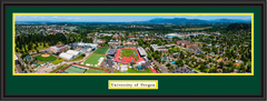 Oregon Ducks Aerial Panoramic Campus Framed Photo