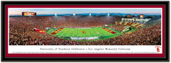 USC Los Angeles Memorial Coliseum Framed Poster matted