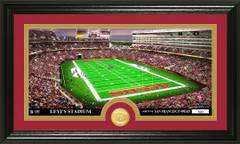 San Francisco 49ers Levi Stadium Bronze Coin Photo Mint