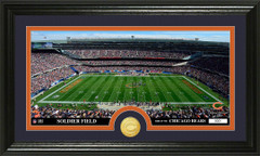 Chicago Bears Soldier Field Bronze Coin Photo Mint