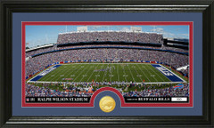 Buffalo Bills Ralph Wilson Stadium Bronze Coin Photo Mint