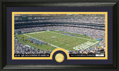 San Diego Chargers Qualcomm Stadium Bronze Coin Photo Mint