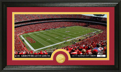 Chiefs Arrowhead Stadium Bronze Coin Photo Mint