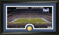 Indianapolis Colts Lucas Oil Stadium Bronze Coin Photo Mint