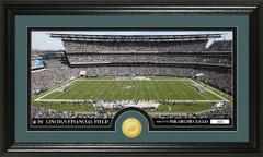 Eagles Lincoln Financial Field Bronze Coin Photo Mint
