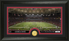 Atlanta Falcons Georgia Dome Bronze Coin Photo Mint