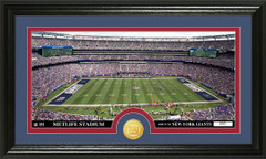NY Giants Metlife Stadium Bronze Coin Photo Mint