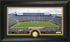 Jaguars Everbank FIeld Stadium Bronze Coin Photo Mint