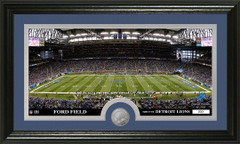 Detroit Lions Ford Field Stadium Bronze Coin Photo Mint