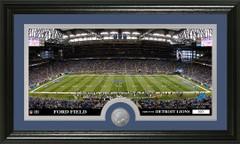 Detroit Lions Ford Field Stadium Bronze Coin Photo Mint