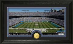 Carolina Panthers Bank of America Stadium Bronze Coin Photo Mint