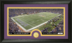 Minnesota Vikings TCF Bank Stadium Bronze Coin Photo Mint