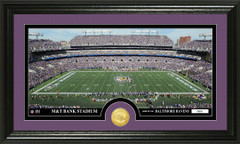Baltimore Ravens M&T Stadium Stadium Bronze Coin Photo Mint