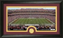 Washington Redskins FedEx Field Bronze Coin Photo Mint