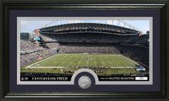Seattle Seahawks CenturyLink Field Bronze Coin Photo Mint