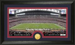 Houston Texans NRG Stadium Bronze Coin Photo Mint