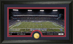Tennessee Titans LP Field Bronze Coin Photo Mint