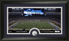 Dallas Cowboys AT&T Stadium Bronze Coin Photo Mint