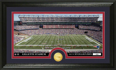 New England Gillette Stadium Bronze Coin Photo Mint