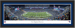 New England Patriots Comeback at Gillette Stadium Framed Print