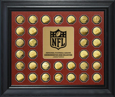 NFL Commemorative GOld Coin Collection