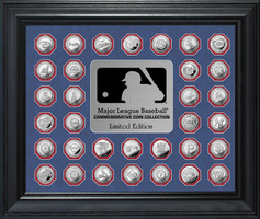 Major League Baseball Commemorative Silver Coin Collection