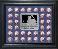 Major League Baseball Commemorative Silver Coin Collection