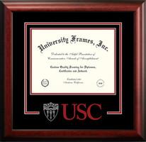USC Trojans Spirit Diploma School Logo Frame