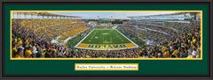 Baylor Bears Inaugural McLane Stadium Framed Poster