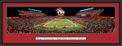Rutgers High Point Solutions Stadium Framed Poster