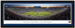 Notre Dame Shutout Framed Picture matted