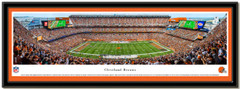 Cleveland Browns FirstEnergy Stadium Panoramic Picture matted