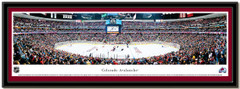 Colorado Avalanche Pepsi Center Framed Picture matted