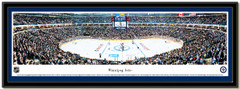 Winnipeg Jets MTS Center Framed Panoramic Picture matted