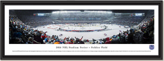 NHL 2014 Stadium Series Blackhawks vs Penguins at Soldier Field Framed Picture