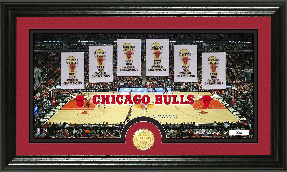 Chicago Bulls Traditions Photo Mint Picture
