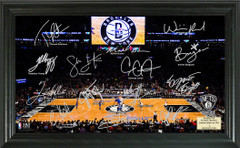 Brooklyn NetsTeam Signature Framed Picture