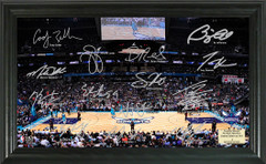 Charlotte Hornets Team Signature Framed Picture