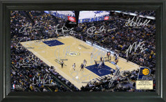 Indianapolis Pacers Team Signature Framed Picture