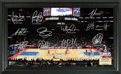 Los Angeles Clippers Team Signature Framed Picture